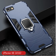 Load image into Gallery viewer, For iPhone SE 2020 11 11 PRO 11 PRO MAX Shockproof Armor Case , Car Holder Magnetic Ring Case For iPhone SE 2020 11 11 PRO 11 PRO MAX X XS XR 7 7 Plus 8 8 Plus ect