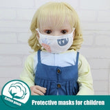 5/10 Pcs 6 Layers Baby Mask Gauze Breathable Dust-Proof Masks for Infants and Toddlers Daily Protection Products Soft Cotton Gauze Masks (Suitable for 1-6 Years)