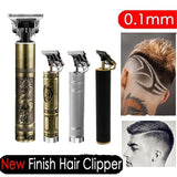 Top Quality 2020 New 120 Minutes Durable (2-3 Hours Fast Charge) Pro Li T-Outliner Skeleton Heavy Hitter Cordless Trimmer Men 0mm Baldheaded Hair Clipper Finish Hair Cutting Machine