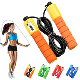 4 Colors Jump Ropes with Counter Sports Fitness Adjustable Fast Speed Counting Jump Skip Rope Skipping Wire