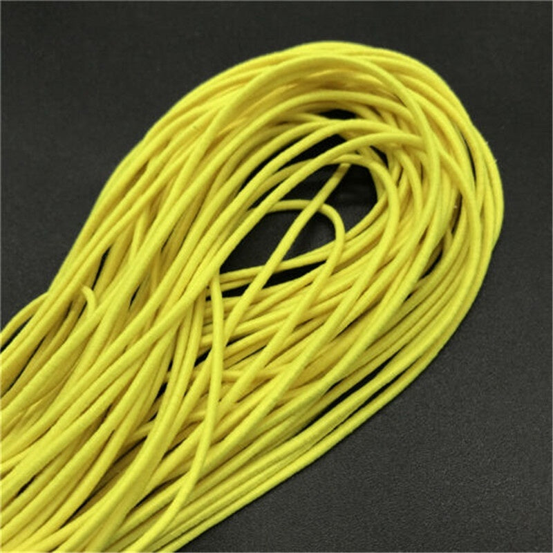 25 Meters 1mm Beading Elastic Stretch Cord Beads Cord String Strap Rope Bead For DIY Bracelet