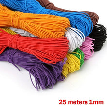 Load image into Gallery viewer, 25 Meters 1mm Beading Elastic Stretch Cord Beads Cord String Strap Rope Bead For DIY Bracelet