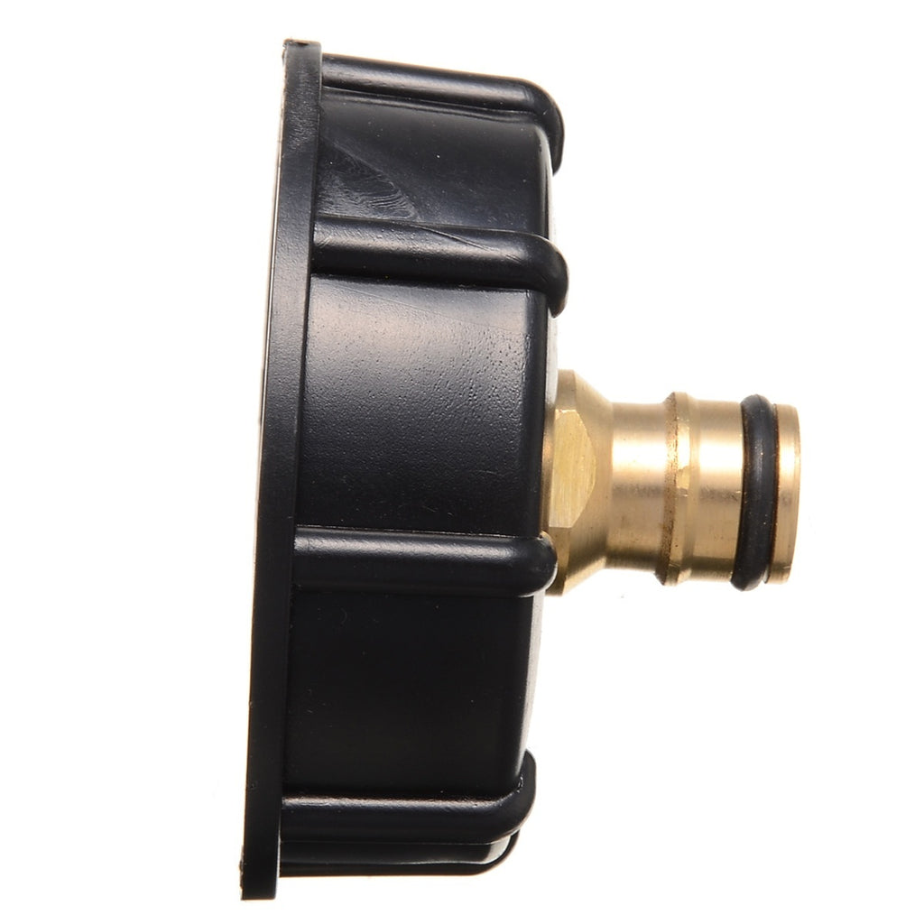 IBC Tank Adapter On Plug Shut-off Ball Valve Container Rainwater Tap Connector