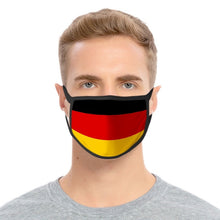 Load image into Gallery viewer, National Flag Print Face Mask Unisex Dustproof Breathable Face Mask Washable Cotton Mouth Muffle