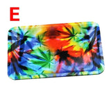 Metal Rolling Tray,HD Pattern Printed Tobacco Cigarette Holder,Smoking Accessories