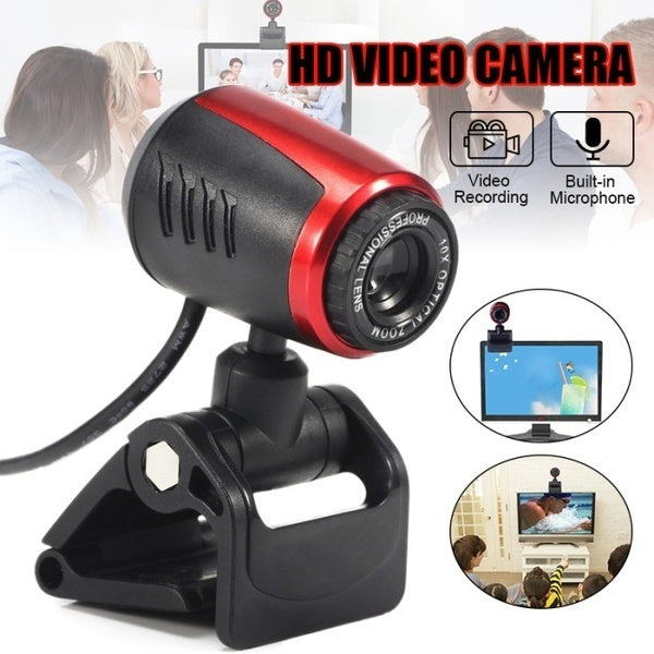 2020 Newest USB 2.0 Webcam Web Camera With Mic For Computer Laptop Desktop PC