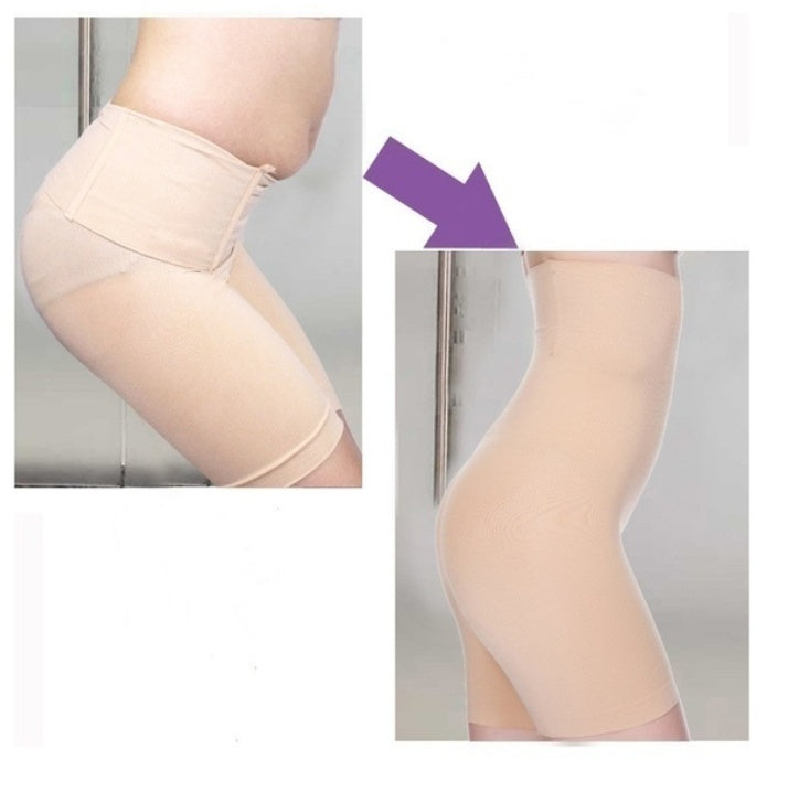 Fat Burning High Waist Underwear Body Shaping Underwear Seamless Abdomen Control Body Shaping Pants