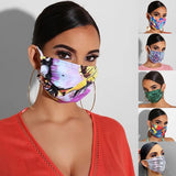 Mouth Mask Fashion Reusable Washable Protective Filter  Face Mask Windproof Mouth-muffle Bacteria Proof Flu Mask