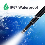 3-in-1 IP67 Waterproof WIFI Endoscope HD Visual Ear Pick Wax Remover Otoscope Ear Cleaner Health Care Tool