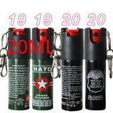 19 Style Male and Female Professional Self-Defense Pepper Spraying Police Manim Safety Lock