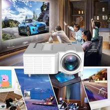 Load image into Gallery viewer, 2020 NEW!1080P HD LED Projector Mini Home Theater Cinema USB VGA AV Beamer Systems Media Player