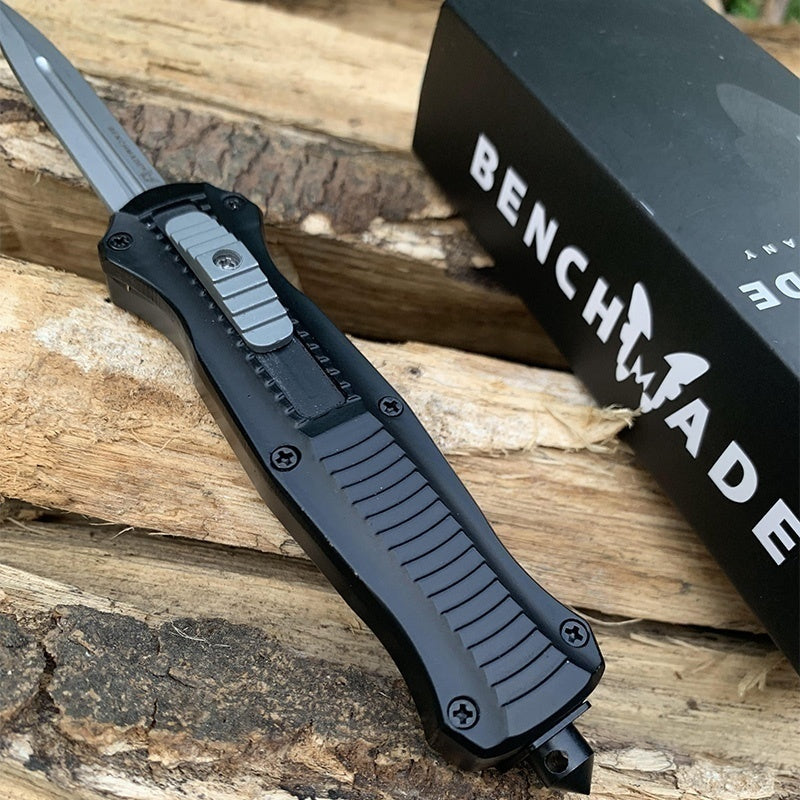 BM Infidel Dagger OTF -7.5inches Spring Assisted Tactical Knife automatic knives switchblade Hunting Camping Fising knives