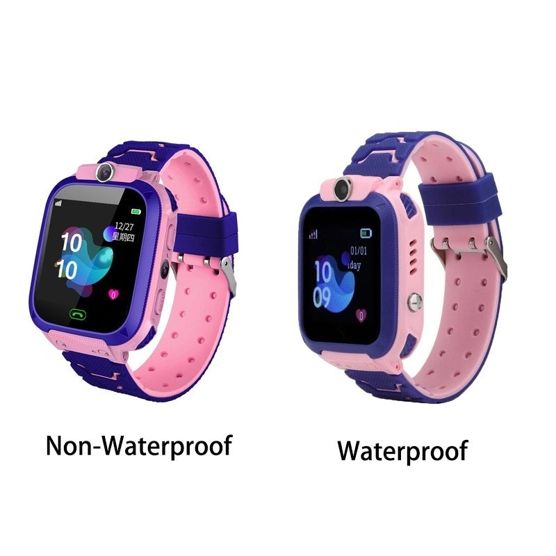Kids Smart Watch Children Smart Watch Touch Screen Waterproof SIM Video Call Anti-Lost With LSB Base Station Positioning Tracker