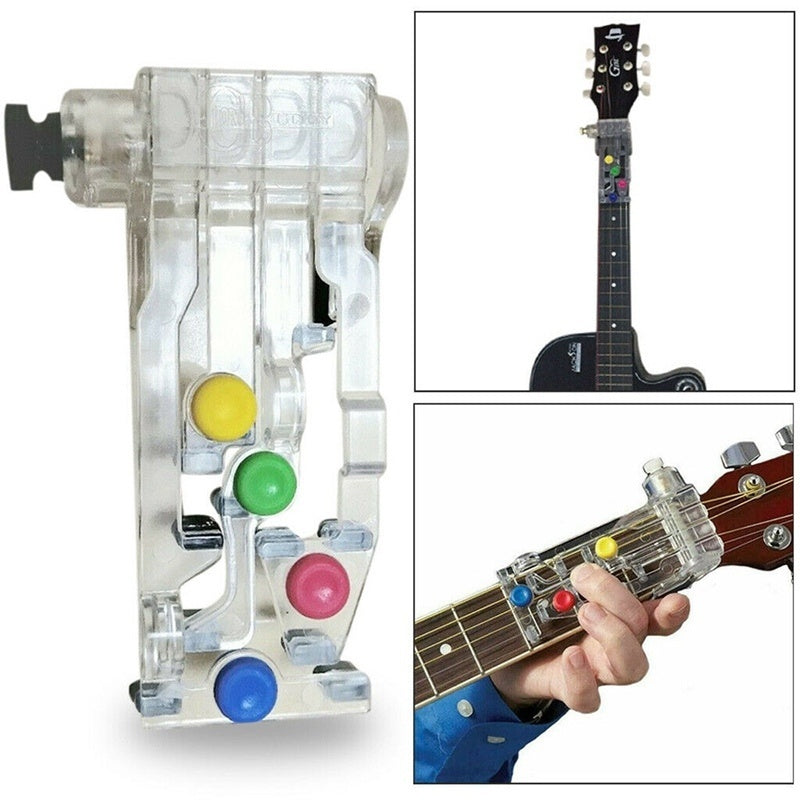 2 Colors Plastic Classical Chord Buddy Chord Guitar Learning System Teaching Aid Exercise