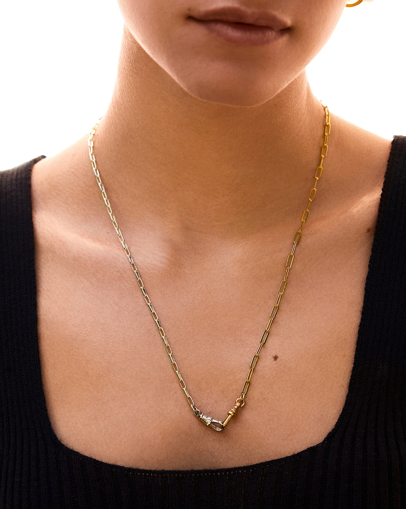 Jacqueline Rose Duet Chain Necklace