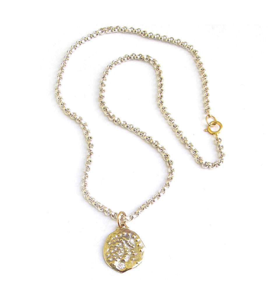 Jacqueline Rose Relic Silver Necklace