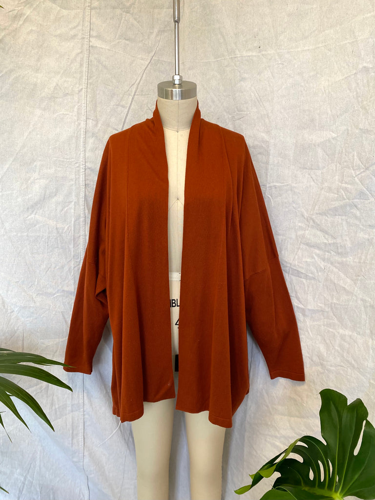 Eskandar Silk Knit Cardigan