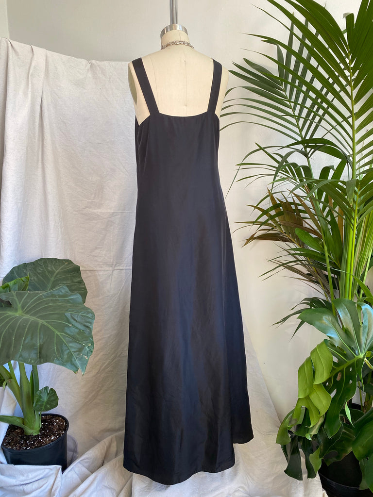 Graham Spencer Silk Maxi Dress