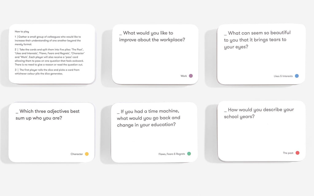 The School of Life- Team Work Card Game