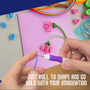 DIY Paper Quill Art Kit
