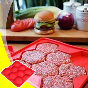 Shape & Store Burger Patty Tray
