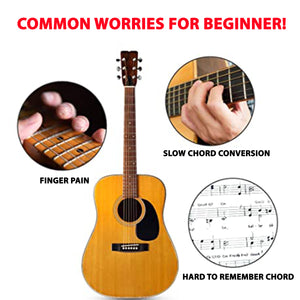 Guitar One-Key Chord Aid