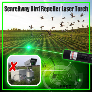ScareAway Bird Repeller Laser Torch