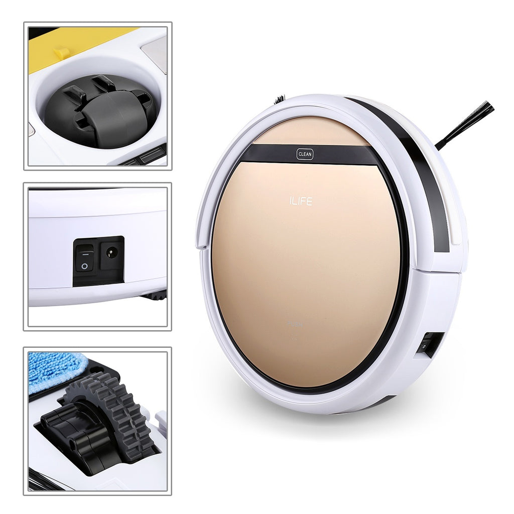 ILIFE V5S Smart Cleaning Robot Floor Cleaner Auto Vacuum Microfiber Dust Cleaner Automatic Sweeping Machine