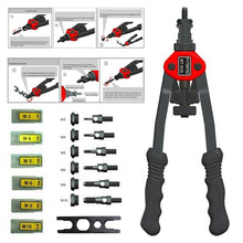 Load image into Gallery viewer, New Auto Riveting Tool Nut Tool Blind Riveter Nut Tool Heavy Hand Tool M3 to M10