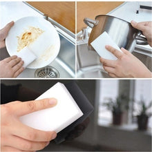 Load image into Gallery viewer, 20pcs 50pcs Magic Sponge Eraser Clean Melamine Multi-Function Cleaning Sponge