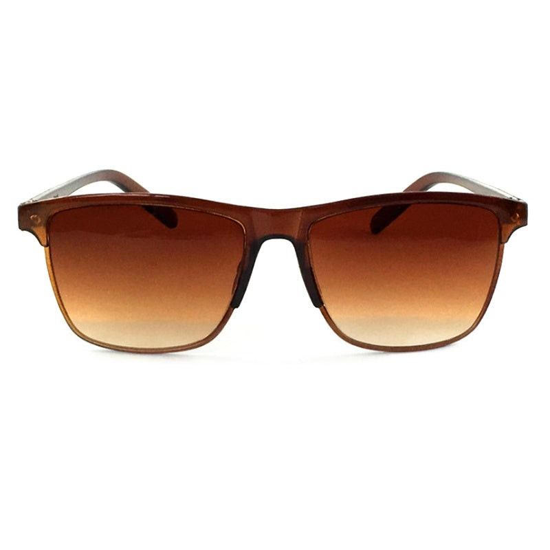 1pc Men's and Women's Sunglasses Anti-uv Fashion Color Film Sunglasses Sunglasses