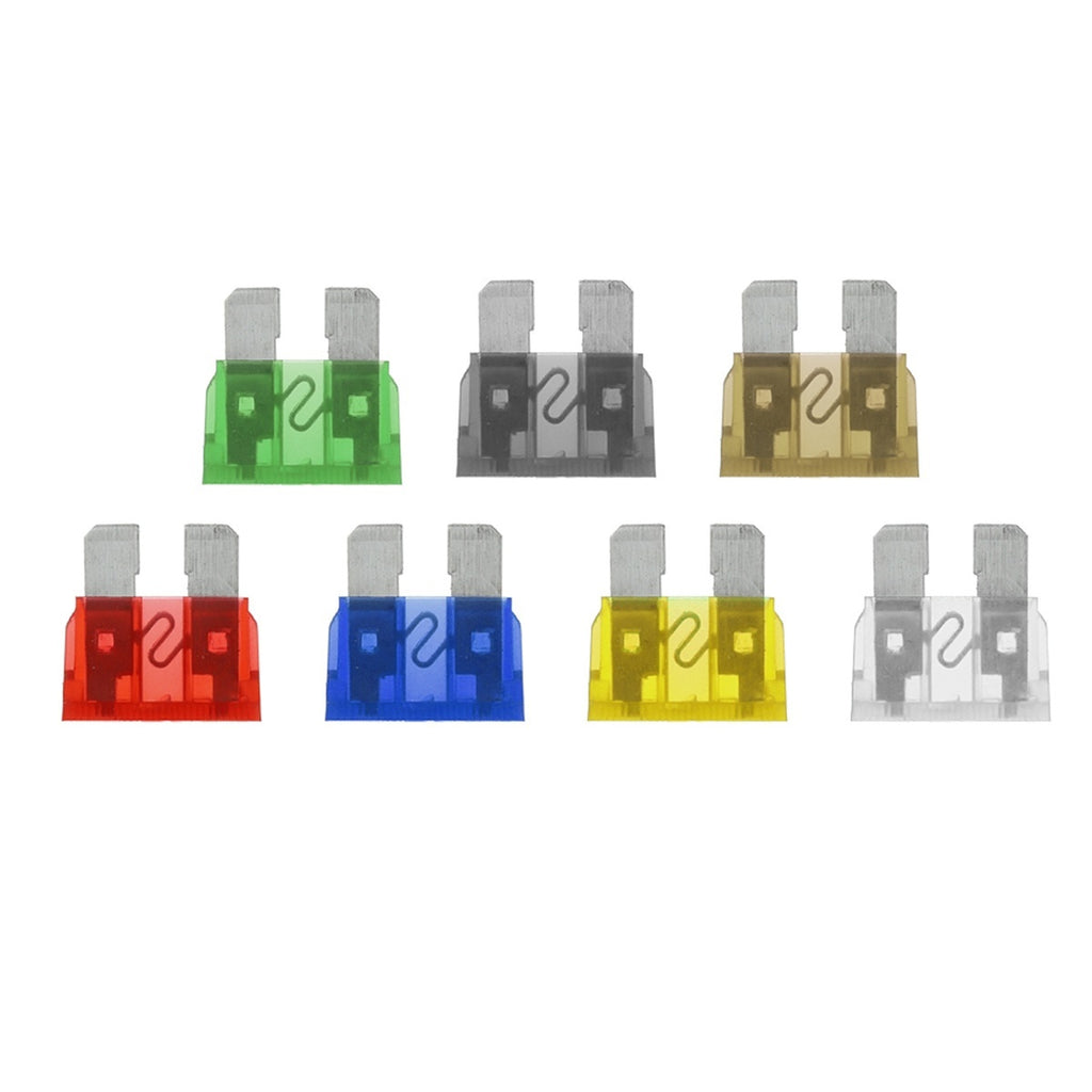 Blade Car Fuses Assortment Kit 220PCS,Medium + Small (5A/7.5A/10A/15A/20A/25A/30A) Fuse Car Kit Gift Fuses Puller