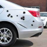 Car Side Stickers Bullet Hole Funny Decals Decoration Sticker Car Styling Car Sticker Waterproof