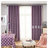 Melodieux Moroccan Fashion Room Darkening Blackout Grommet Top Curtains for Living Room, 52 by 84 Inch, Grey (1 Panel)