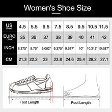 Load image into Gallery viewer, Wome's Running Sports Fashion Wedge Heel Lace Up Canvas High Top Spring Autumn Shoes