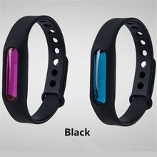Load image into Gallery viewer, Environmentally friendly silicone bracelet colorful summer mosquito repellent safety mosquito bracelet (3PCS)
