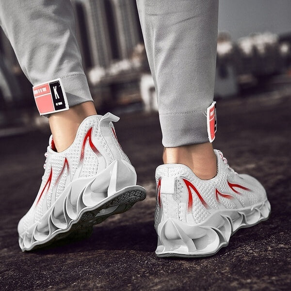 Mens Fashion Walking Shoes Breathable Running Athletic Tennis Blade Sneakers