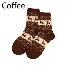 Load image into Gallery viewer, Women Soft Socks Christmas Snowflake Sock Cotton Comfortable Foot Sock