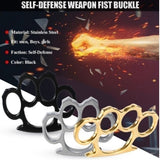 Portable Steel Knuckles Survival Self-Defense Tool Tactical Survival EDC Fighting Camping Outdoor Tools