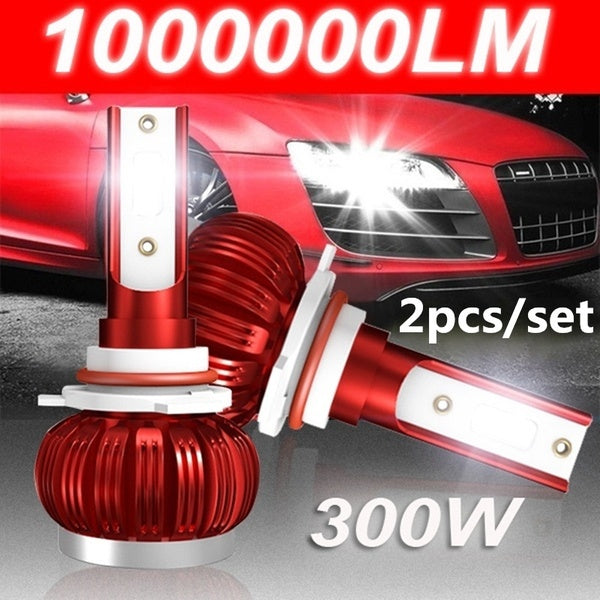 2PCS/KIT LED Car Headlight COB Chip 6000K LED Bulbs Super Bright Lamps Fog Light H1 H7 H4 HB2 9003 H8 H9 H11 9005 HB3 H10 9006 HB4 Hi/Lo Beam Led Headlights Conversion Kits