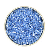 Approx.1000pcs 2MM Silver Lined Gold Beads Small Glass Beads Spacers Miyuki Beads for Jewelry Making DIY Necklace Kralen Wholesale Bijoux