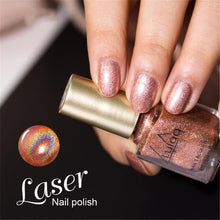 Load image into Gallery viewer, 1 Pc Nail Polish Shiny Mirror Nail Polish Gorgeous Series Shiny Holographic Laser