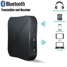 Load image into Gallery viewer, 2 in 1 Bluetooth 4.2 Transmitter Receiver 3.5mm Wireless Stereo Audio Adapter AUX Car Stereo Music Audio Adapter Wireless Bluetooth Transmitter Receiver