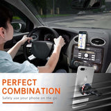 Universal Air Vent Car Mount 360¡ã Rotation Clip Car Mount Phone Holder with Adjustable Switch Lock for All Smartphones GPS Navigation