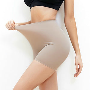 High Waist Smooth Slip Short Panties for Women Comfort Soft Stretch Underwear Anti Chafing Shorts Skimmies for Women Under Dress