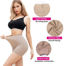 Load image into Gallery viewer, High Waist Smooth Slip Short Panties for Women Comfort Soft Stretch Underwear Anti Chafing Shorts Skimmies for Women Under Dress