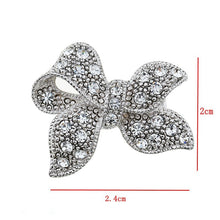 Load image into Gallery viewer, 1PC Rhinestone Brooch 10 Styles Crystal Pin Women Wedding Party Simple DIY Jewelry Accessories Gift
