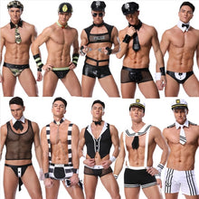 Load image into Gallery viewer, Mens Couple Cosplay Clothing Butler Lingerie Underwear Costumes Clubwear Set