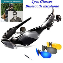 Load image into Gallery viewer, Sunglasses Bluetooth Earphone Outdoor Sport Glasses Wireless Headset with Mic