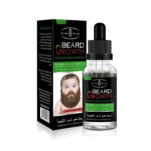 New (30ml)  Men's Facial Hair Growth Thick Beard Growth Essential Oil Essence Beard Growth Liquid Rapid Hair Growth Treatment